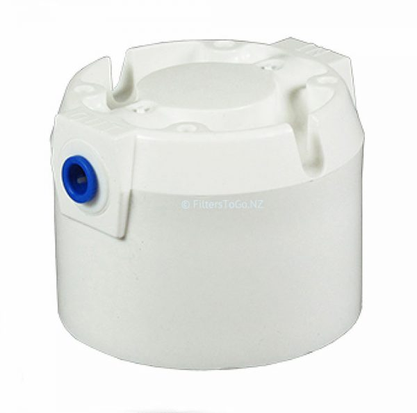 Omnipure Q valved Head for Water Filter 1/4 JG Quick Connect