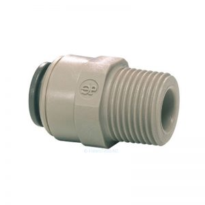 John Guest Male Connector 3/8 x 3/8 NPTF PI011223S