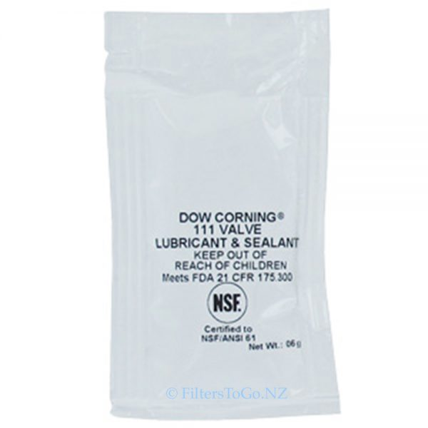 O-Ring Silicone Grease Lubricant Dow Corning®111 6gram sachet