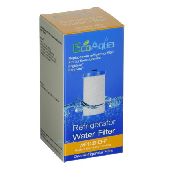 Westinghouse R643 R645 Electrolux 1438545 WF1CB WFCB Compatible Water Filter The ECO AQUA WF1CB-EFF