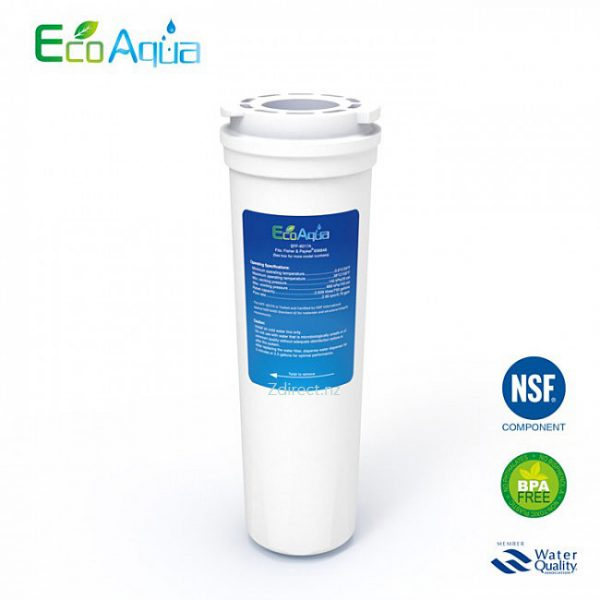 ECO AQUA EFF-6017A Water Filter alternative for Fisher & Paykel 836848