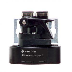 Everpure QL3 EV9259-14 Filter Head with water ShutOff valve