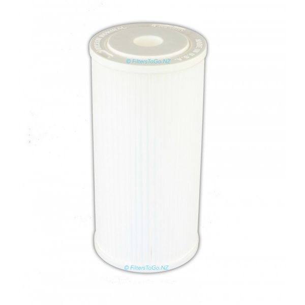 "10"" Jumbo Polypleated Filter Cartridge Unicel 10x4½ 5 micron"